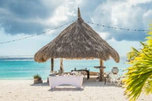 Trouwen Cas Abao Curacao