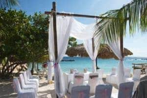 Avila Beach bij Avila Hotel op Curacao