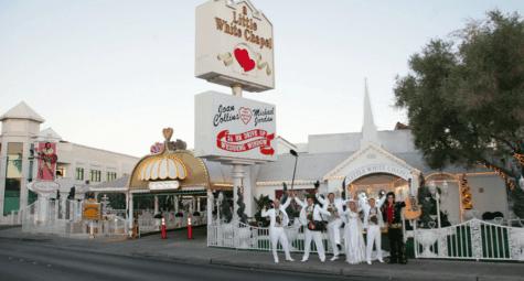 Trouwen in Las Vegas a Little White Wedding Chapel
