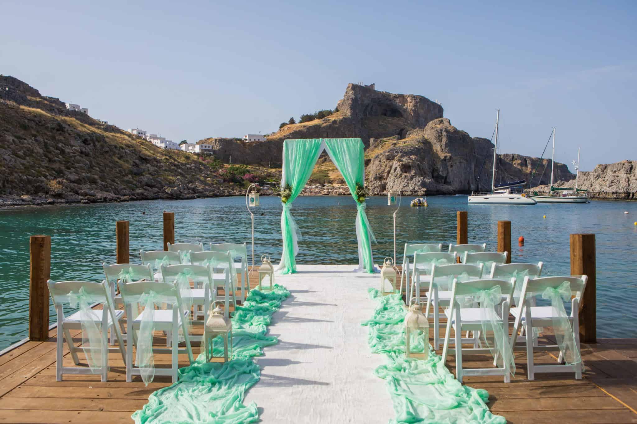 Trouwen Op Rhodos Griekenland Door Interweddings