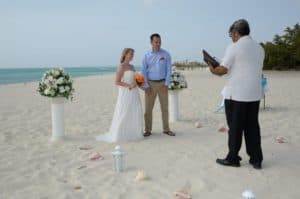 Trouwlocatie Aruba Ceremonie strand