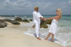 Renewal of the Vows op Aruba strand