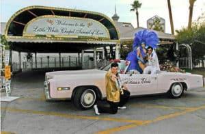 USA Las Vegas Elvis serenade