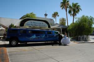 Trouwen USA Las Vegas Hummer experience