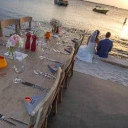 Trouwen op het strand van Bonaire