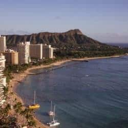 Trouwen op Hawaii Waikiki Beach Oahu