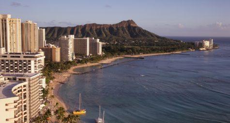 Trouwen op Hawaii Waikiki Beach Oahu