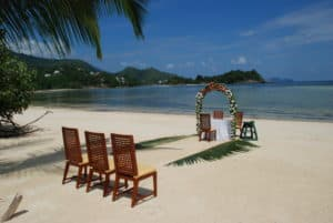 Trouwen Constance Ephelia Resort Mahe Seychellen
