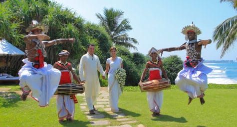 Trouwen Saman Villas Sri Lanka