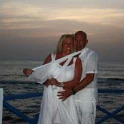 John van Oossanen Aanzoek in Fuerteventura