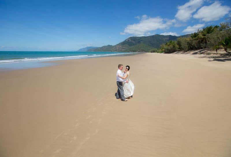 Trouwlocatie Australie Thala Beach Nature Reserve Port Douglas strand