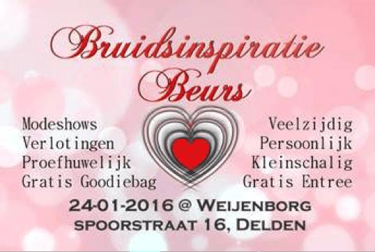 Bruidsinspiratie Beurs Delden 2016