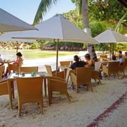 larchipel strand praslin Seychellen