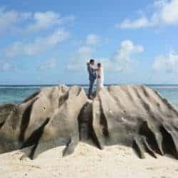 strand Anse Source d'Argent Seychellen