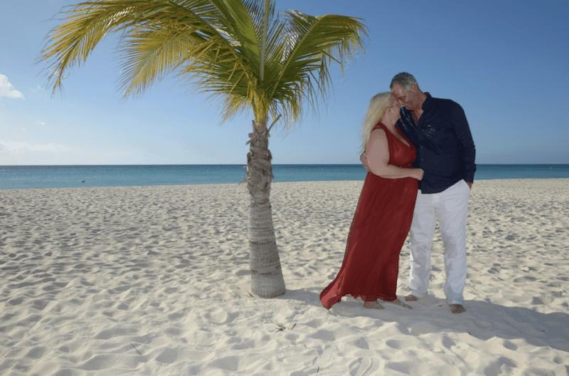 Dennis en Manon trouwen op Aruba 17022017