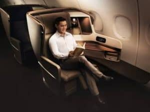 Singapore Airlines Business Bali