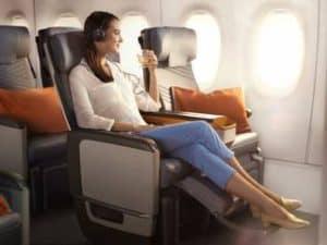 Singapore Airlines Premium Economy Bali