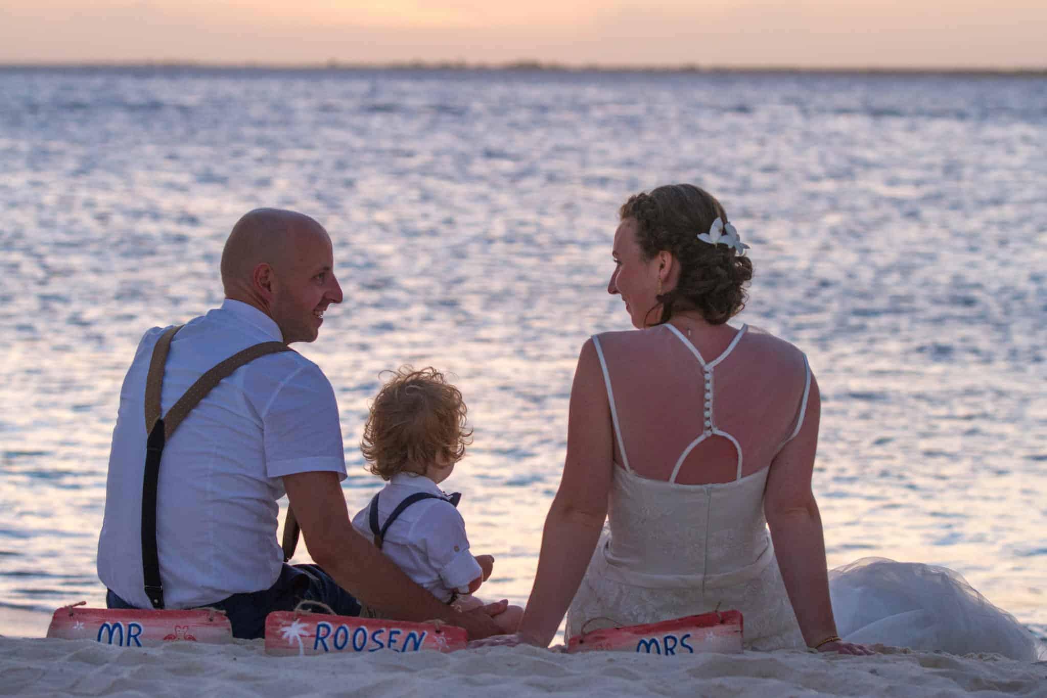 Rob en Anne trouwen op Bonaire