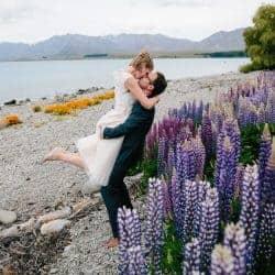 Trouwen Nieuw Zeeland Lake Tekapo