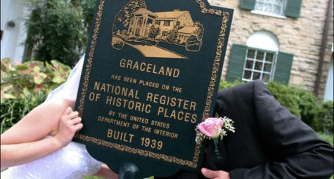 Trouwen op Graceland in Memphis Amerika