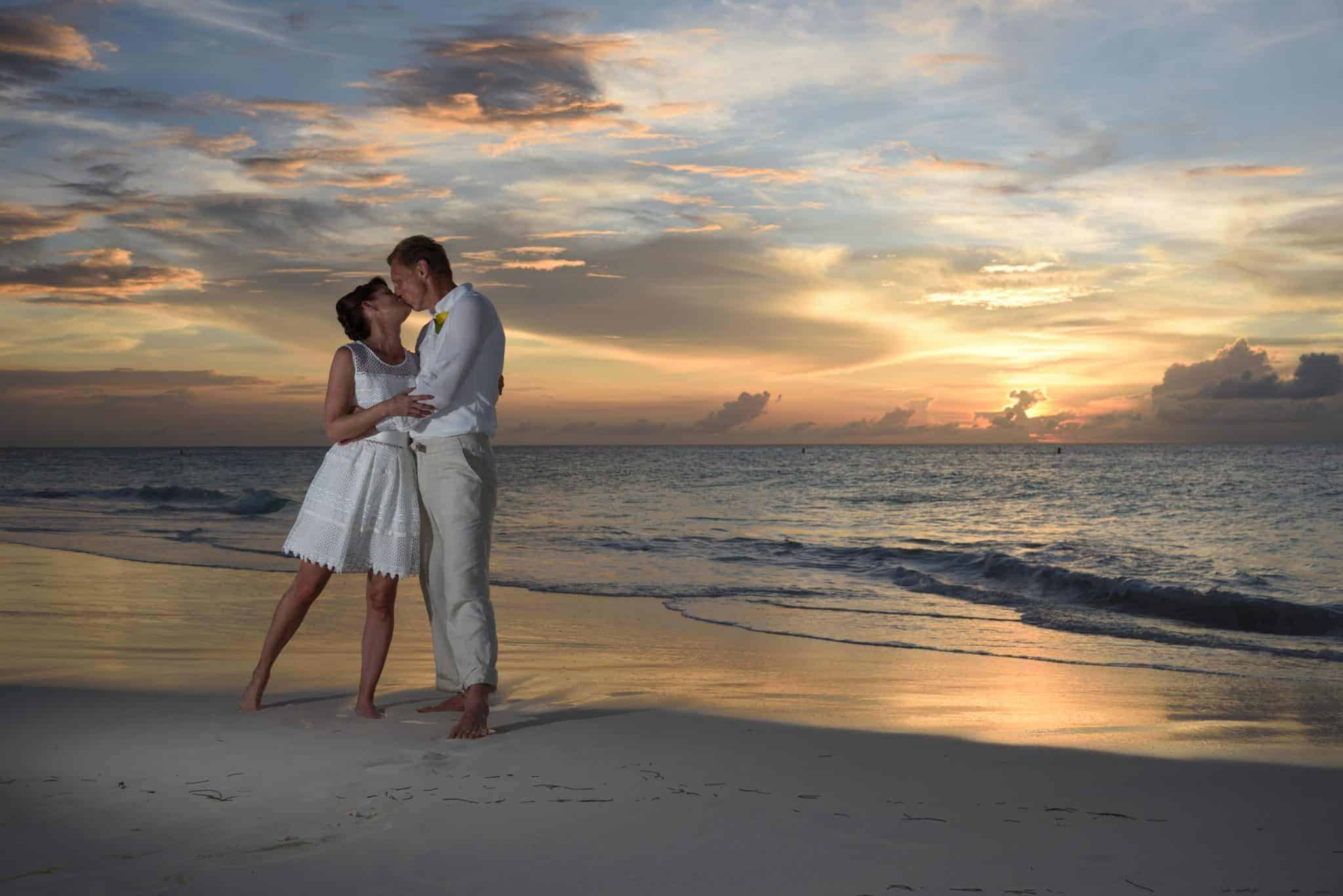 Aruba strand ceremonie