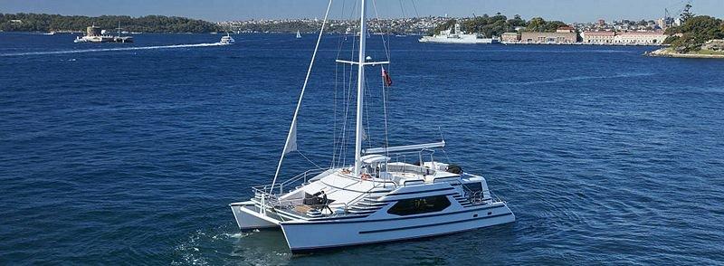 Sydney harbour yacht