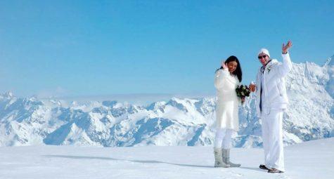 Liebig Dome Mt Cook trouwen