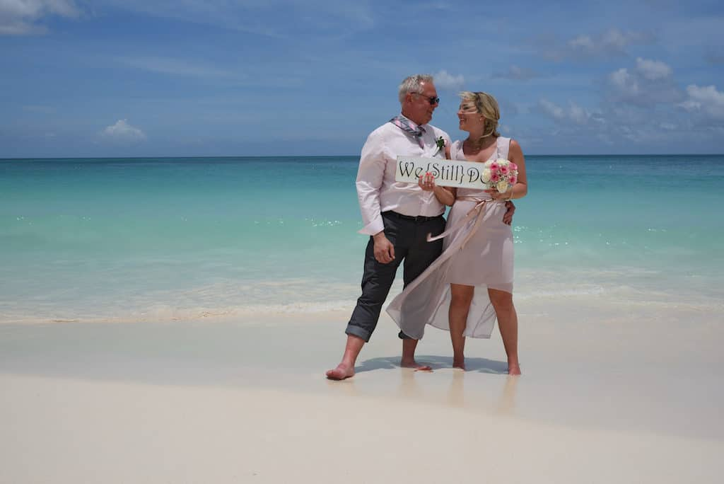 Renewal of the Vows op Aruba