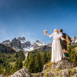 Trouwen in Filzmoos Oostenrijk
