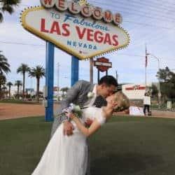 Trouwen Las Vegas Sign Amerika