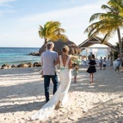 Trouwen op Curacao Blue Bay