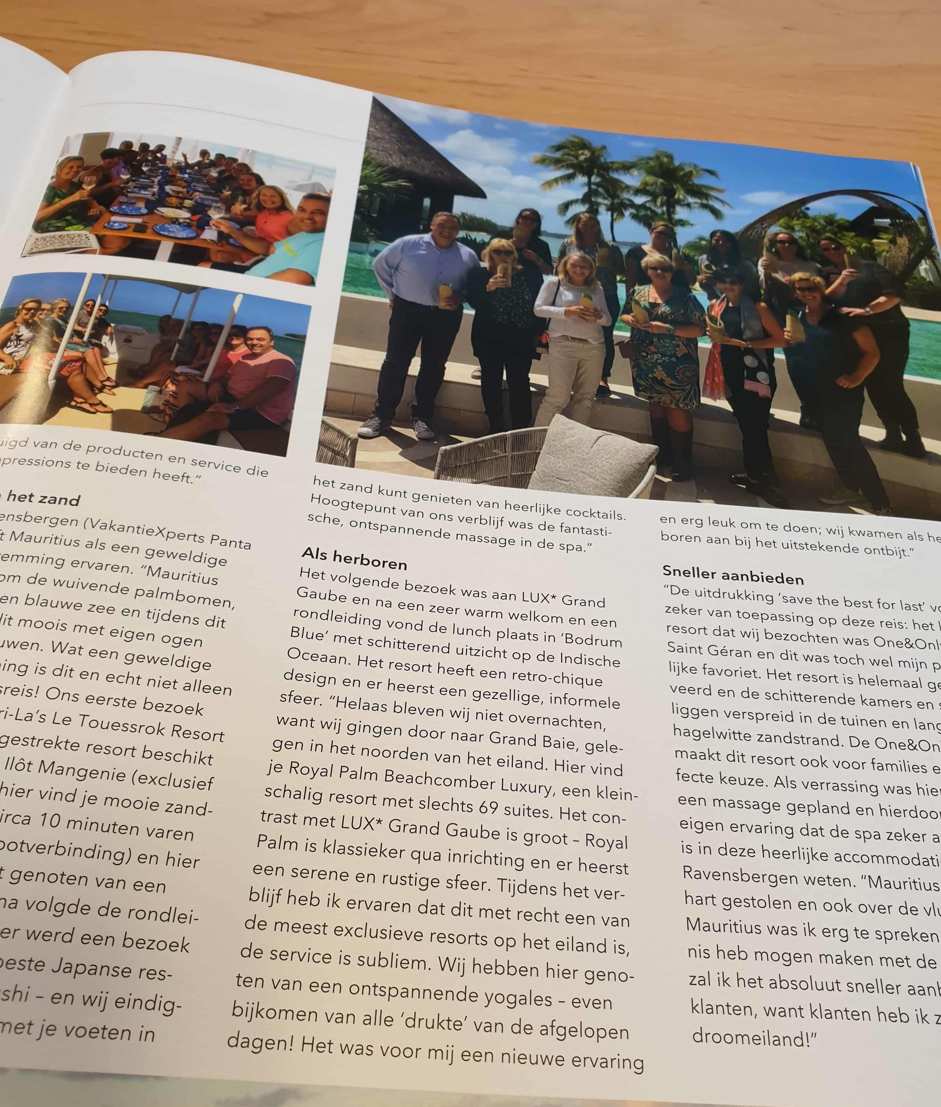 Persoonlijke ervaring Mauritius