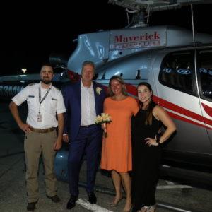 Helikopter trouwen in Las Vegas
