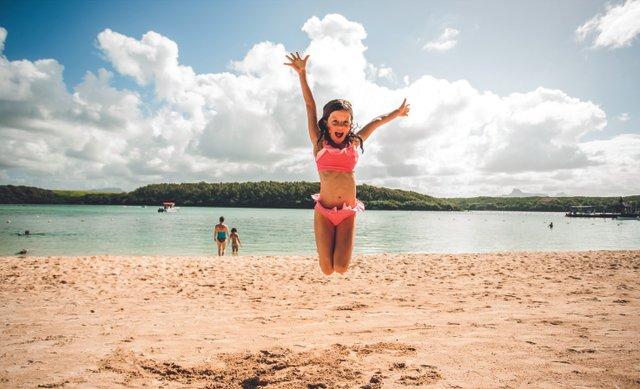 Shandrani Beachcomber Resort Spa Strand voor kinderen